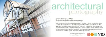 YRSCommercial, Archtectural Photography - Harvey Spakfield.